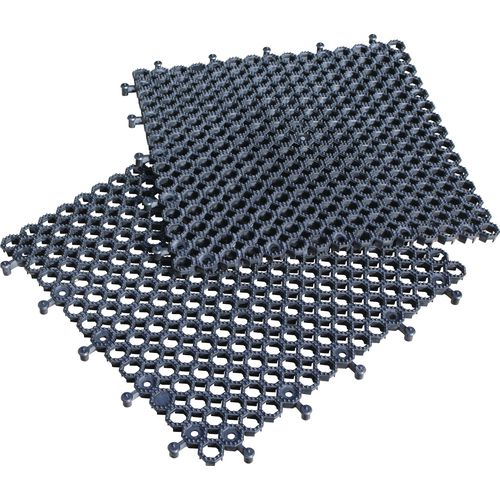 Heavy duty PVC open-grid interlocking flooring - Pack of 16