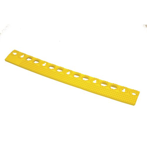 Plastex Lok Female Edge Yellow 500Mm - Floor Tiles