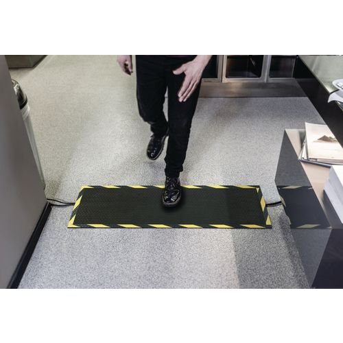 Cable protector mats, for indoor or outdoor use