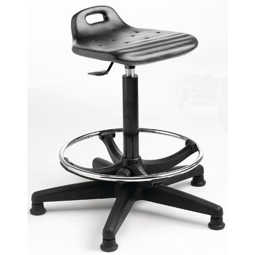 Posture stools with adjustable footring,seat height 580-800mm