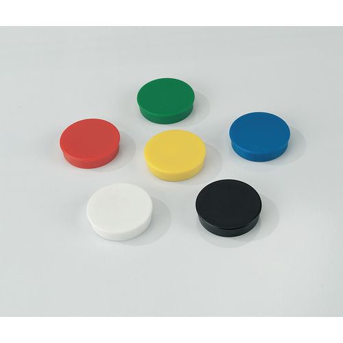 Magnets Coloured magnets - 10 pack