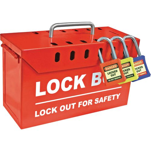 Group lock out box
