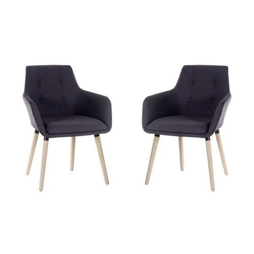 Reception Chairs Modern Reception chair, pack of 2
