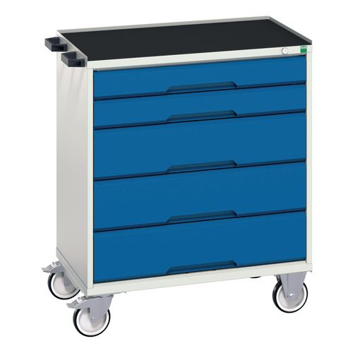Tool Boxes Bott Verso medium duty mobile drawers