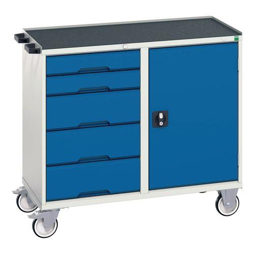 Tool Boxes Bott verso metal tray maintenance trolleys