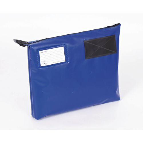 Bags Reusable tamper evident mailing pouches with bottom gussets
