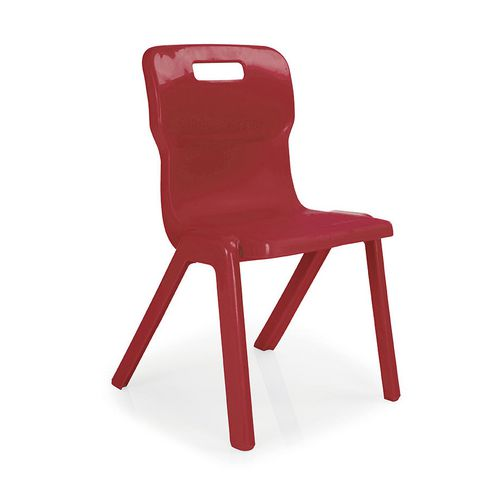 Stacking Chairs One piece polypropylene stacking chair