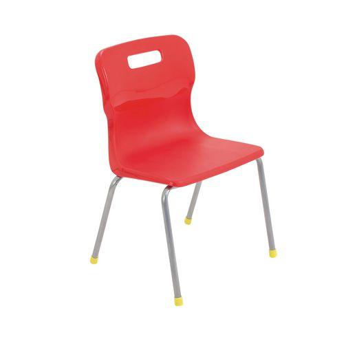Stacking Chairs 4-Leg polypropylene stacking chair
