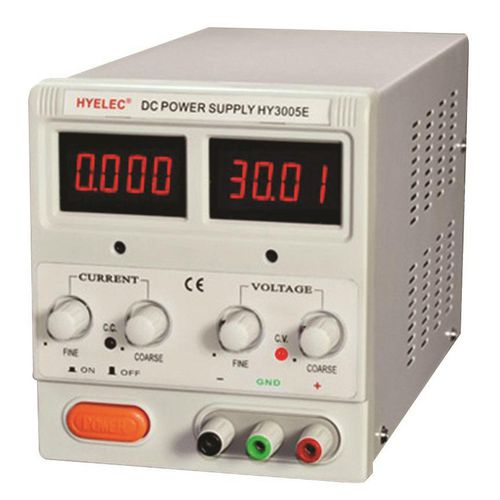 DC Regulated bench top power supply