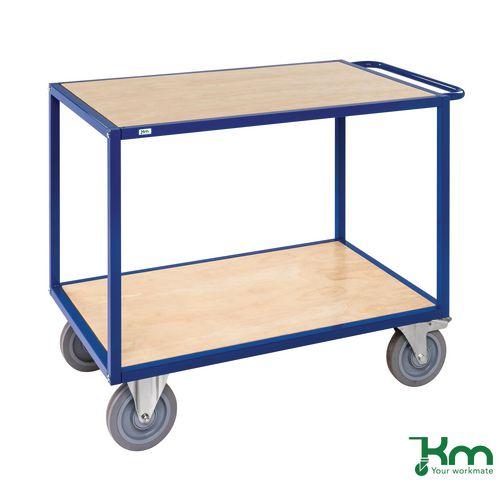 Trolleys EXTRA HEAVY DUTY TABLE TOP TROLLEY. SHELF SIZE L X W 1080 X 680MM
