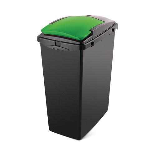 40L Recycling bin lids, green