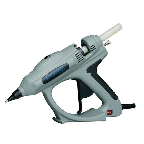 Heavy duty hot melt glue gun