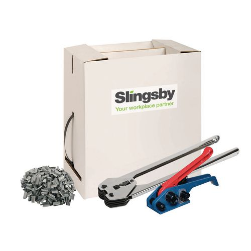 Strapping KITSTART STRAPPING KIT - SBX600  STRAP BOX KIT, TST30 TENSIONER, SGP12 SEALER