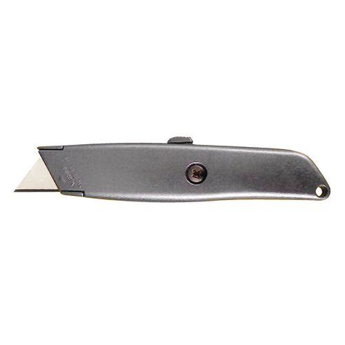 Metal retractable knife