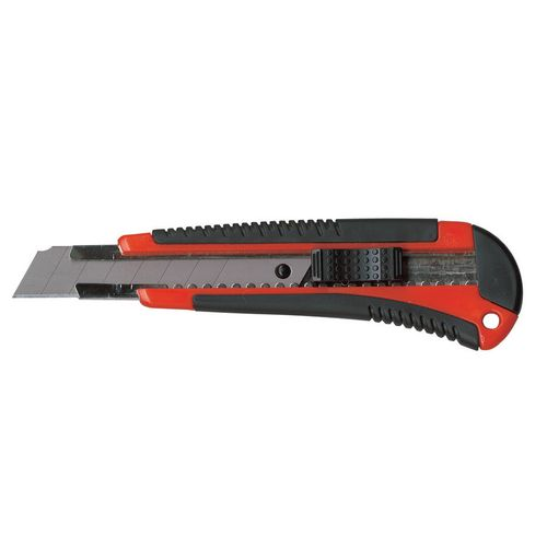 Knives / Cutters PACPLUS SNAP-OFF BLADE KNIFE, HEAVY DUTY, 18MM, pack of 12