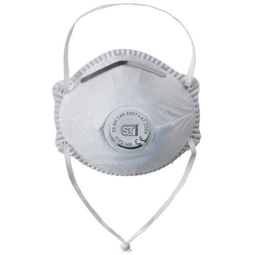 Eye / Face Protection MOULDED MASK FFP2 VALVE