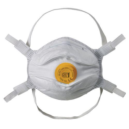 Eye / Face Protection FFP3 VALVED MOULDED RESPIRATOR