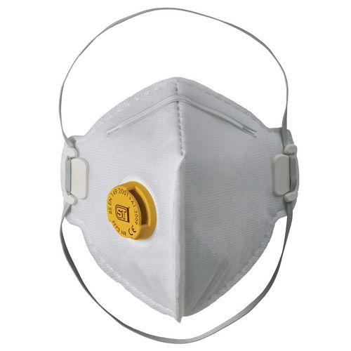 Eye / Face Protection FFP3 VALVED FLAT PACK RESPIRATOR
