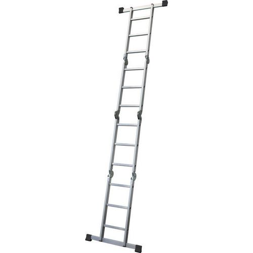 Multi purpose articulated ladder