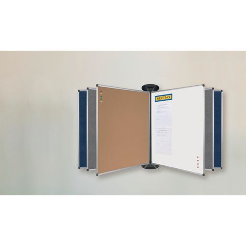 Non-Magnetic FLIPPING BOARDS SYSTEM  / 240X1200MM / LACQUERED STEEL