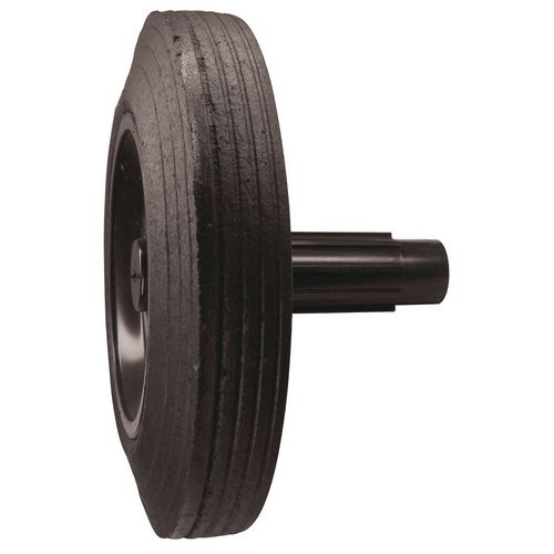Rubbish Bins WHEELIE BIN WHEEL - STEEL/RUBBER WXDXH: 45 X 200 X 200
