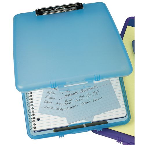 Clipboards BLUE SLIM CASE CLIPBOARD