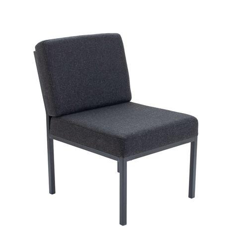 Modular steel frame reception chair