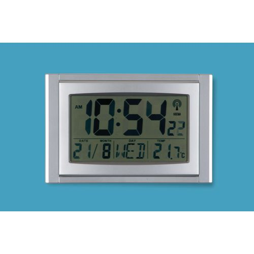 Wall LCD DIGITAL CLOCK WITH  CALENDAR AND THERMOMETER