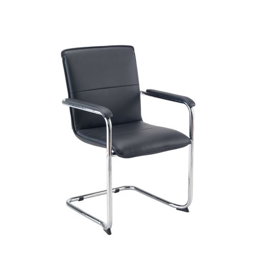 Executive Chairs PAVIA VISITOR CHAIR - BLACK