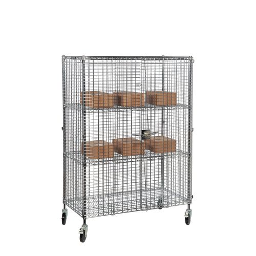 Wire mobile security cages