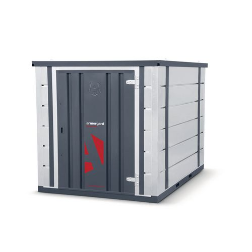 Forma-stor® quick-assembly outdoor storage container