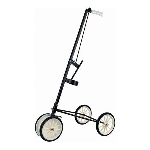 Wheeled linemarking applicator