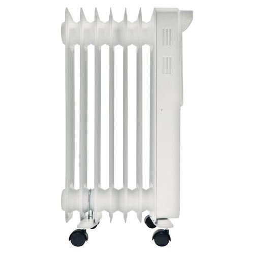 Digital oil filled radiator
