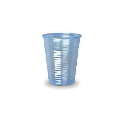Water Machines & Accessories SS ECO WATER CUPS  7OZ BLUE 40X100PK