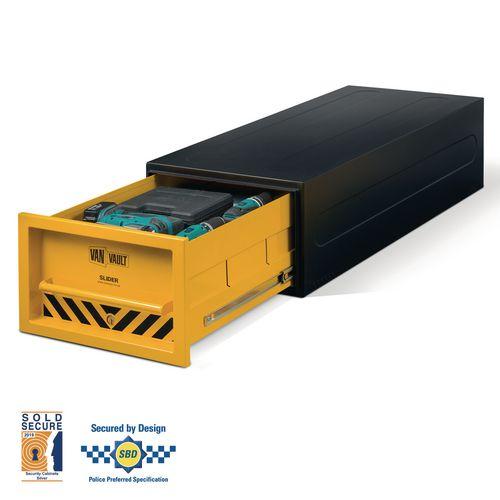 Van vault slider toolbox