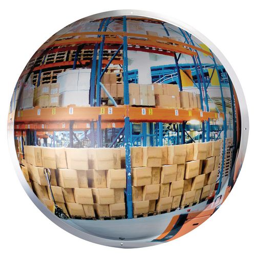 Hemispherical convex mirrors, 12m