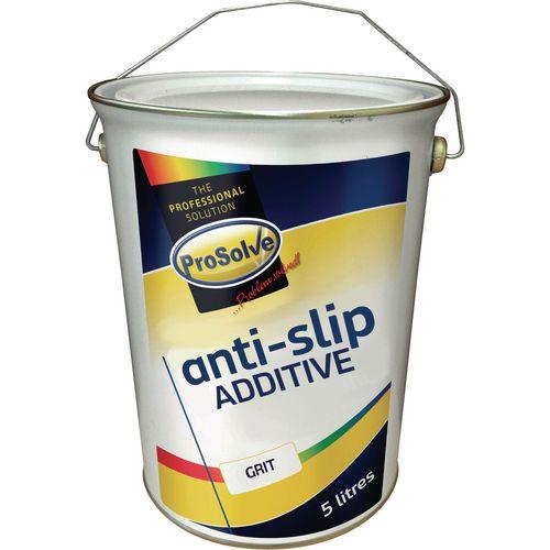 Industrial floor paint - slip resistant grit