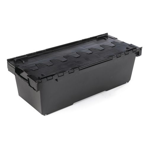 126 litre attached lid container