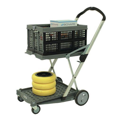 Clax folding trolley, grey