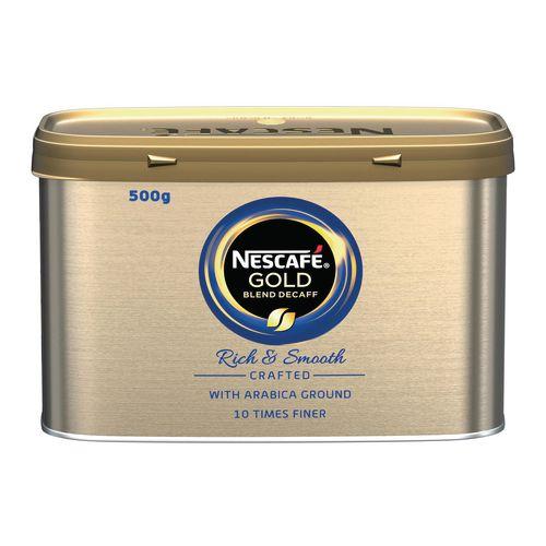 Nescafe gold blend decaf coffee granuals