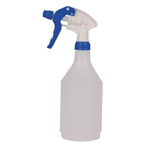 Colour coded trigger spray bottles