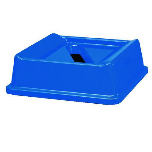 Large paper waste bin top