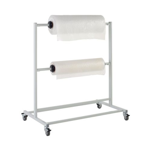 Double tier packing trolley