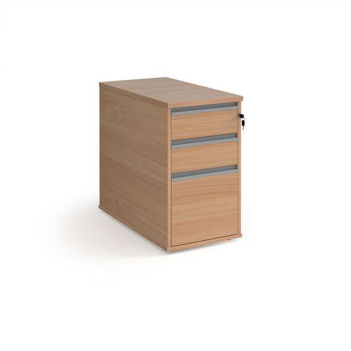 Office desk end pedestal