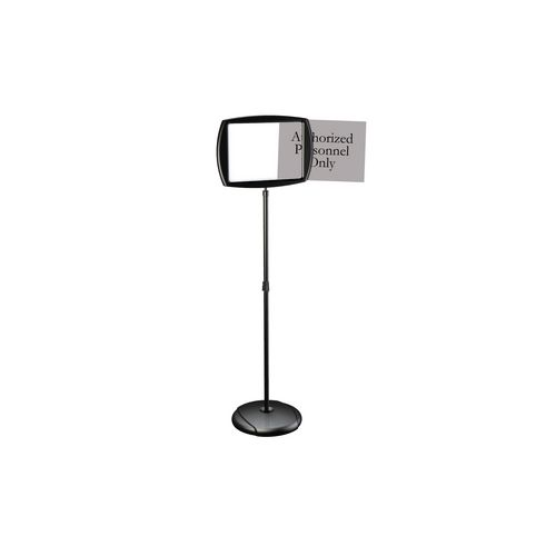Shaped sign holder, Rectanugular sign holder