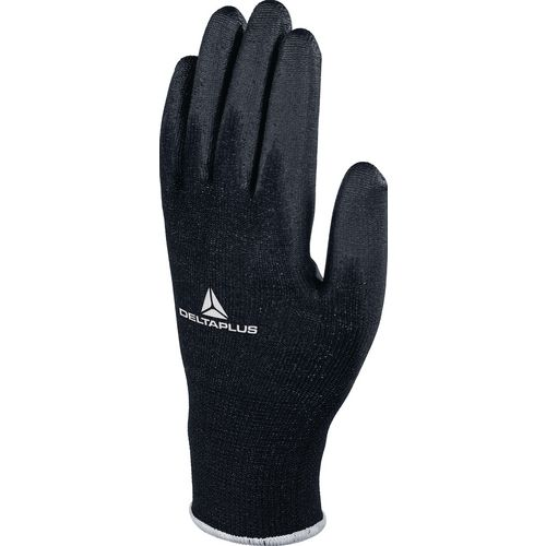 Hand Protection Black palm PU coated gloves