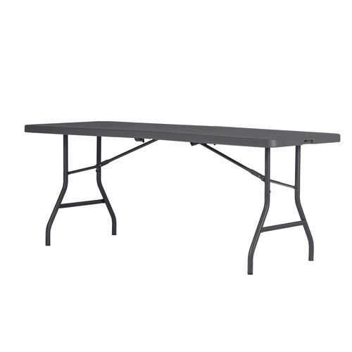 Polyfold lightweight folding table with carry handle