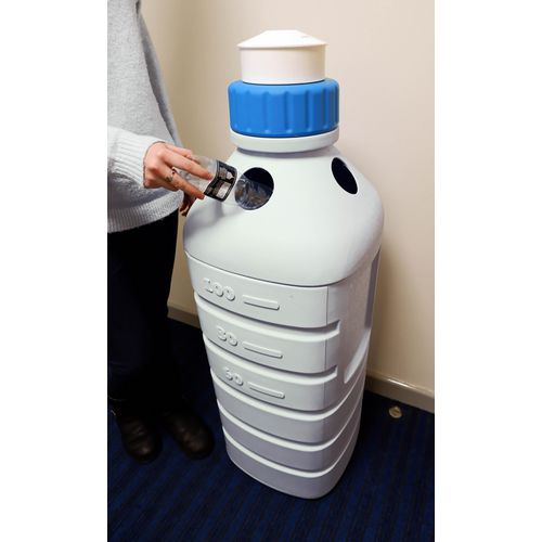 90L Water bottle recycling bin
