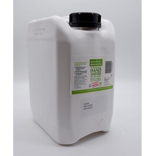 Bentley organic hand sanitiser - 5 litre