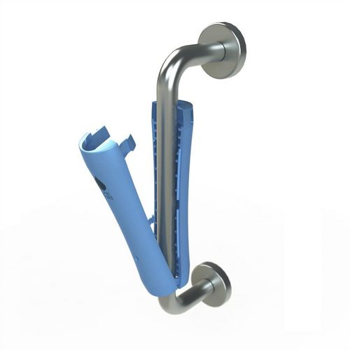 Hygienic antibacterial pull door handle